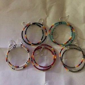 Jewelry - Handmade Navajo Hoop Earrings PICK